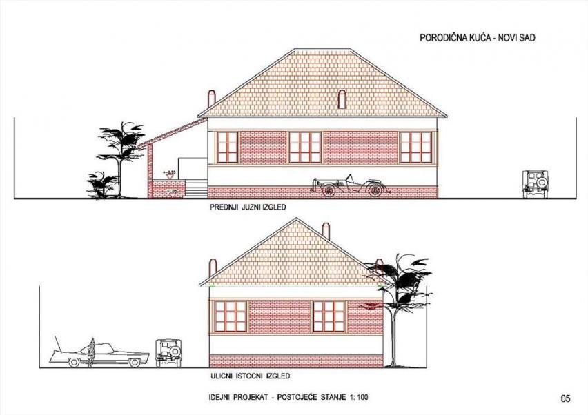 kuća - NOVI SAD - FUTOŠKA - 3040203