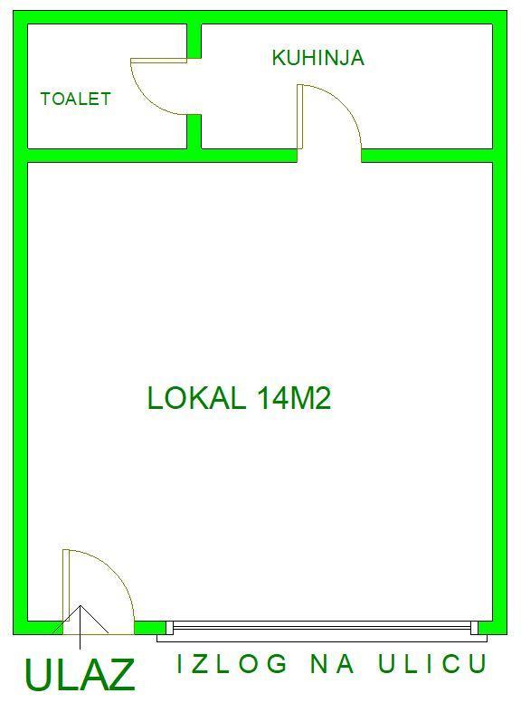 lokal - NOVI SAD - BULEVAR - 8080122